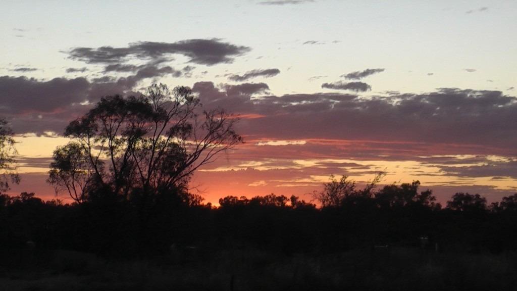 Sunset Inaminka