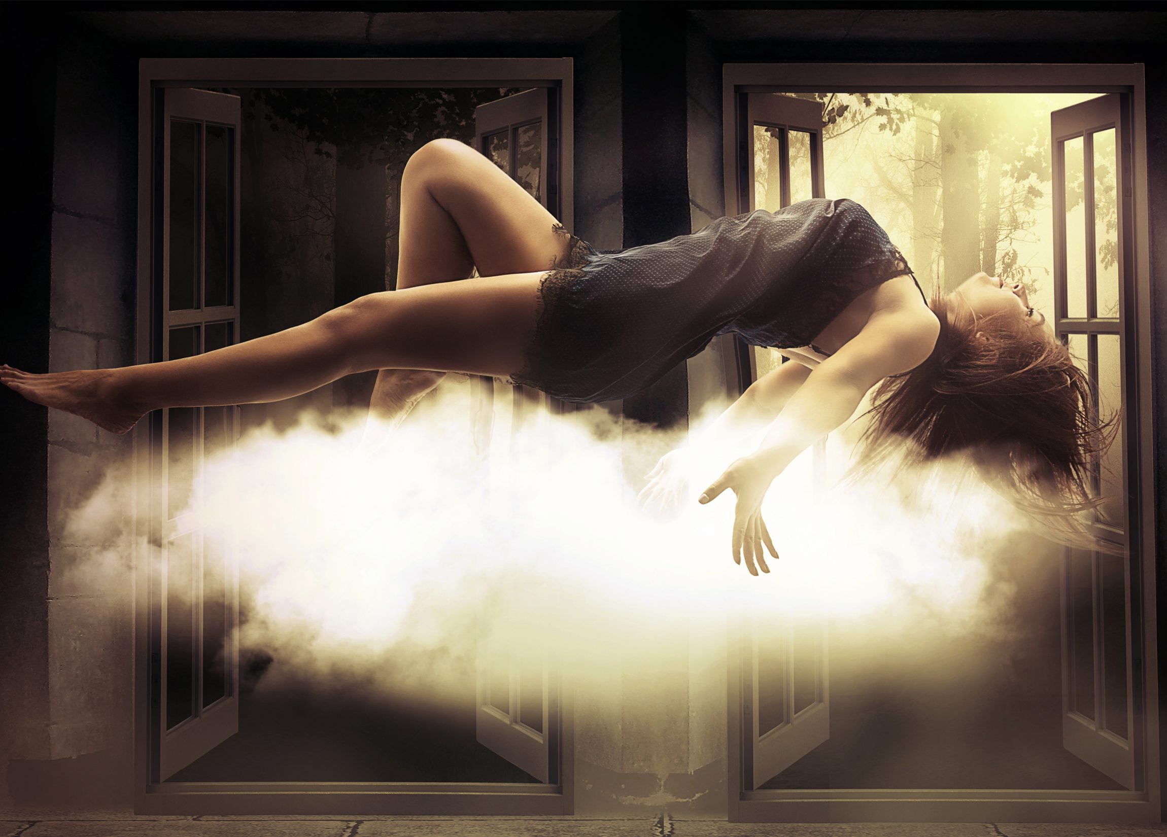 Astral Projection Travel Meditation, Out of Body Experience. During deep sleep at night, for most people the human soul leaves the body into the astral plane.