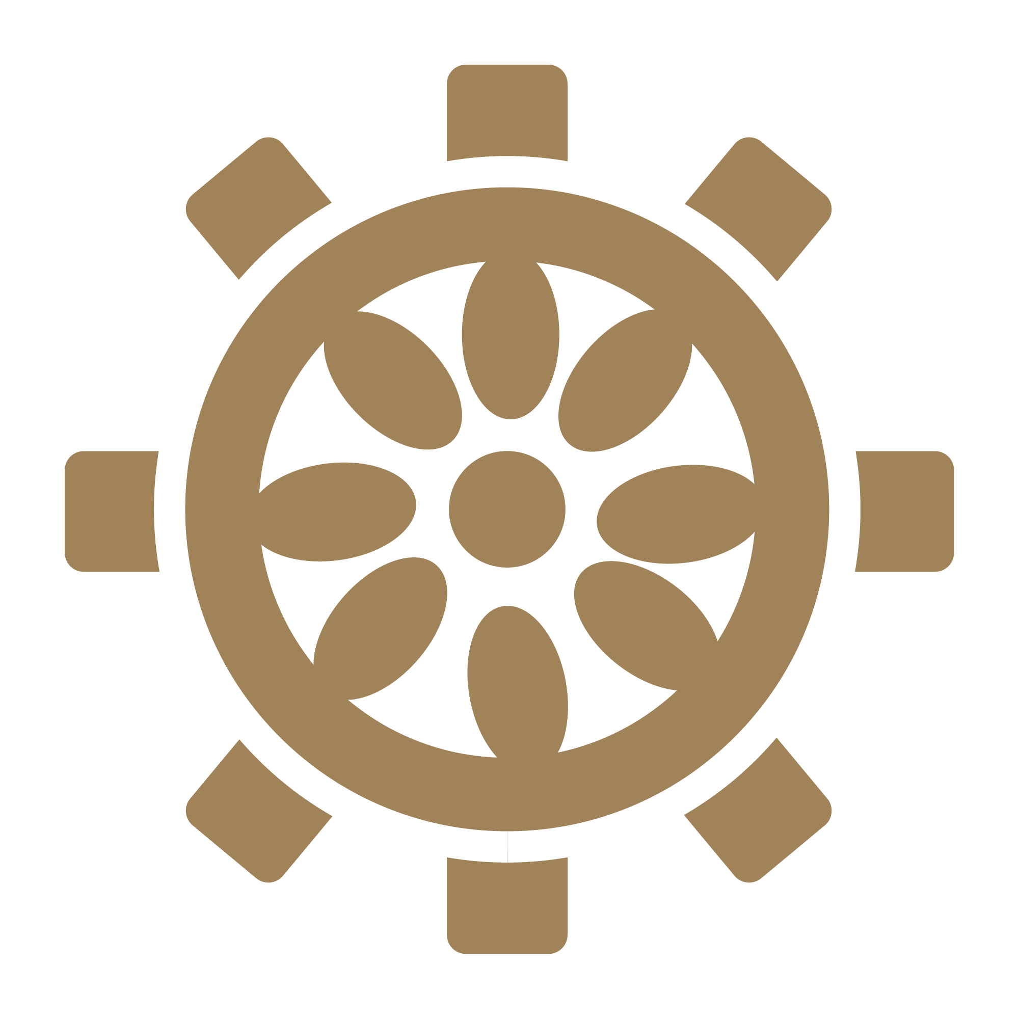 Circular design Icon Guided meditation for anxiety and depression, Body Scan Meditation and Relaxation