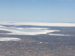 Earth Air Fire Water Spirit and mother earth meditation. Lake Eyre 2016 filled with water and Making the deserts Green and Alive!