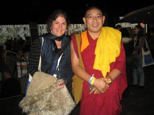 Spiritual Retreats near me. Dalai Lama Buddhist meditation retreat. Tibetan Monk Sonam and Senka at weekend retreat and workshop.