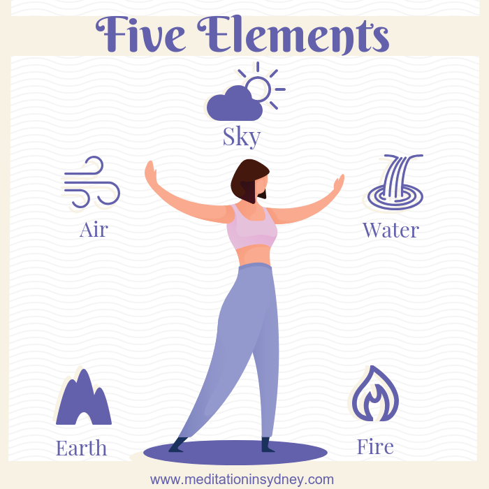 Aligning with the five elements meditation. Awakening Healing meditation in Sydney Meditation by Nature with Senka