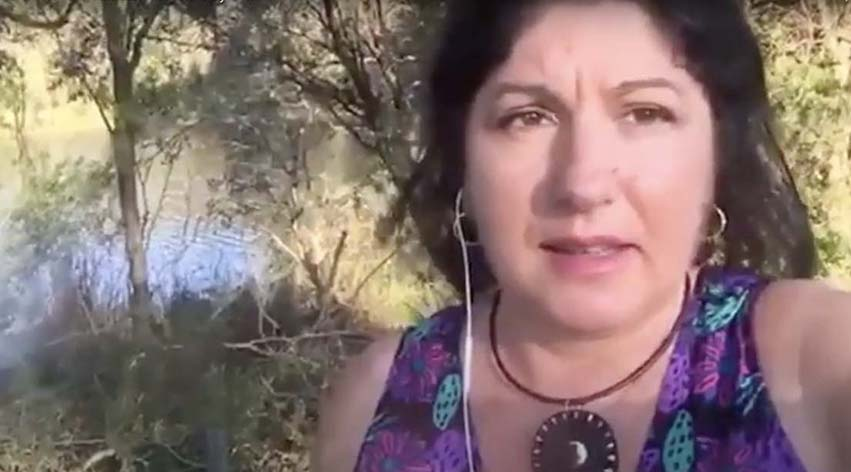 zoom guided meditation by nature with Senka - channelled meditation course online Sydney Australia